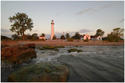 Wind Point Lighthouse - Waterview by Brad Jaeck